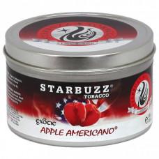 Табак Starbuzz - Apple Americano (Американское Яблоко) 250 гр.