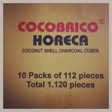Уголь Cocobrico Horeca (1 кг, 112 шт)