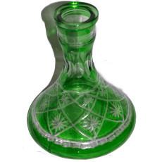 Колба для кальяна (зеленое стекло)